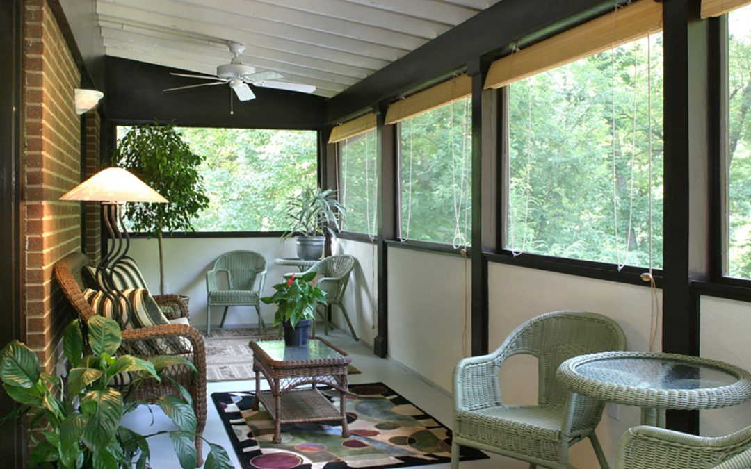 Deck Conversion to Sunroom